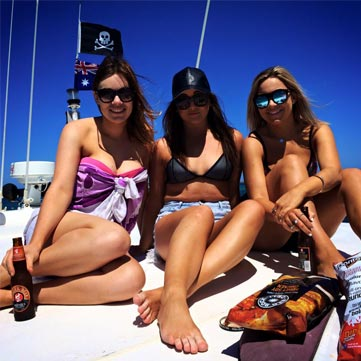CHRISTMAS PARTY BOAT CHARTER